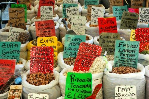 Markt bezoeken
